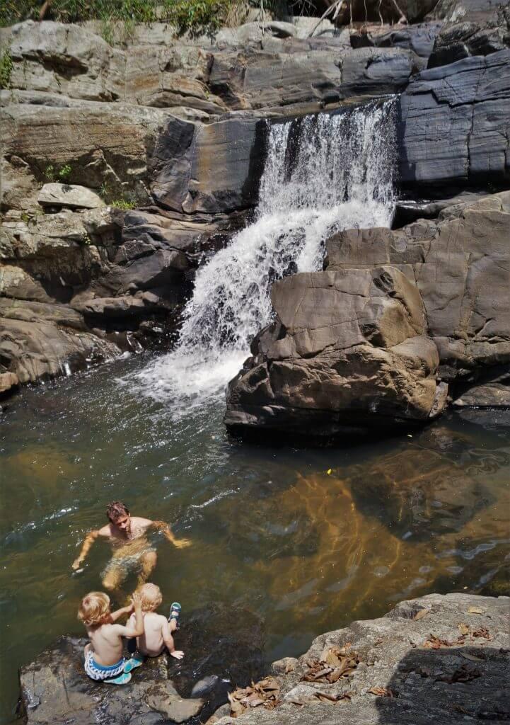 Living Heritage Koslanda, Waterfall