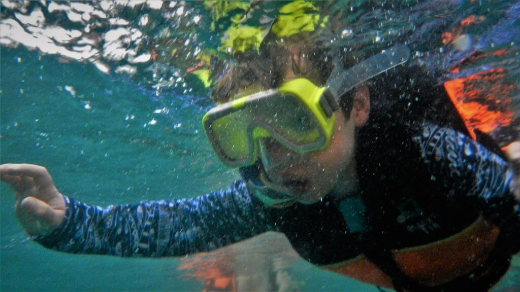 snorkelling in Thailand