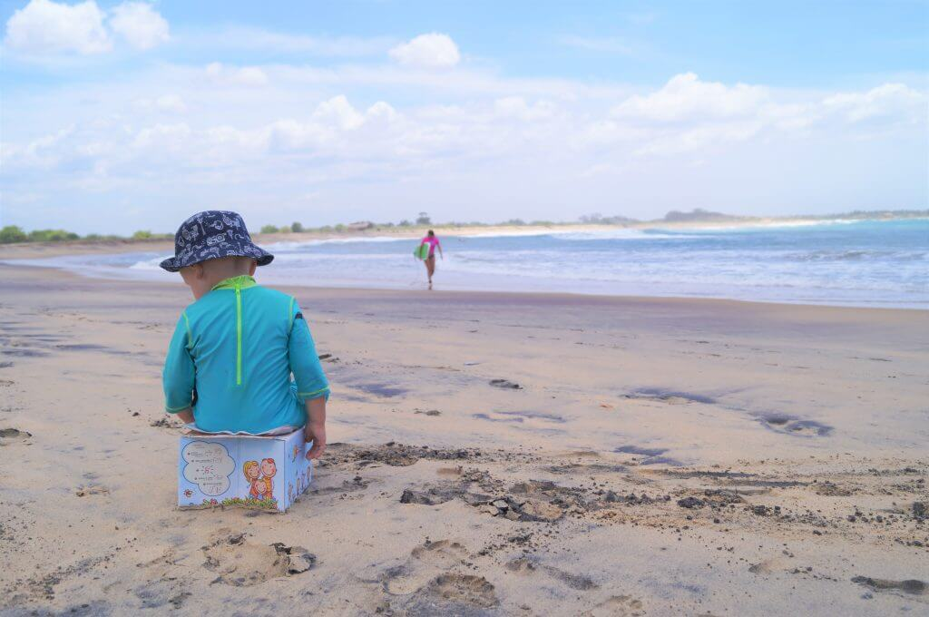 Potty training on holiday on when travelling