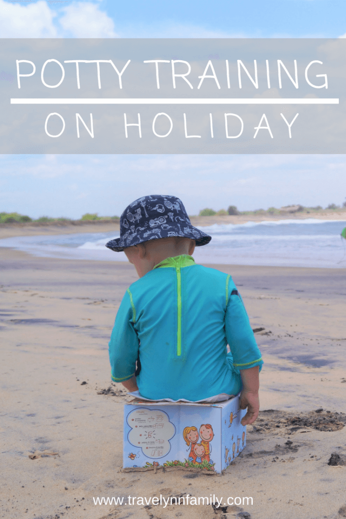 Potty training on holiday and when travelling