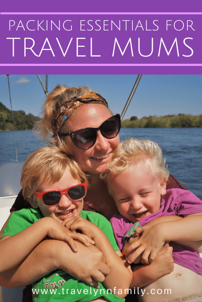 Packing essentials for travel mums
