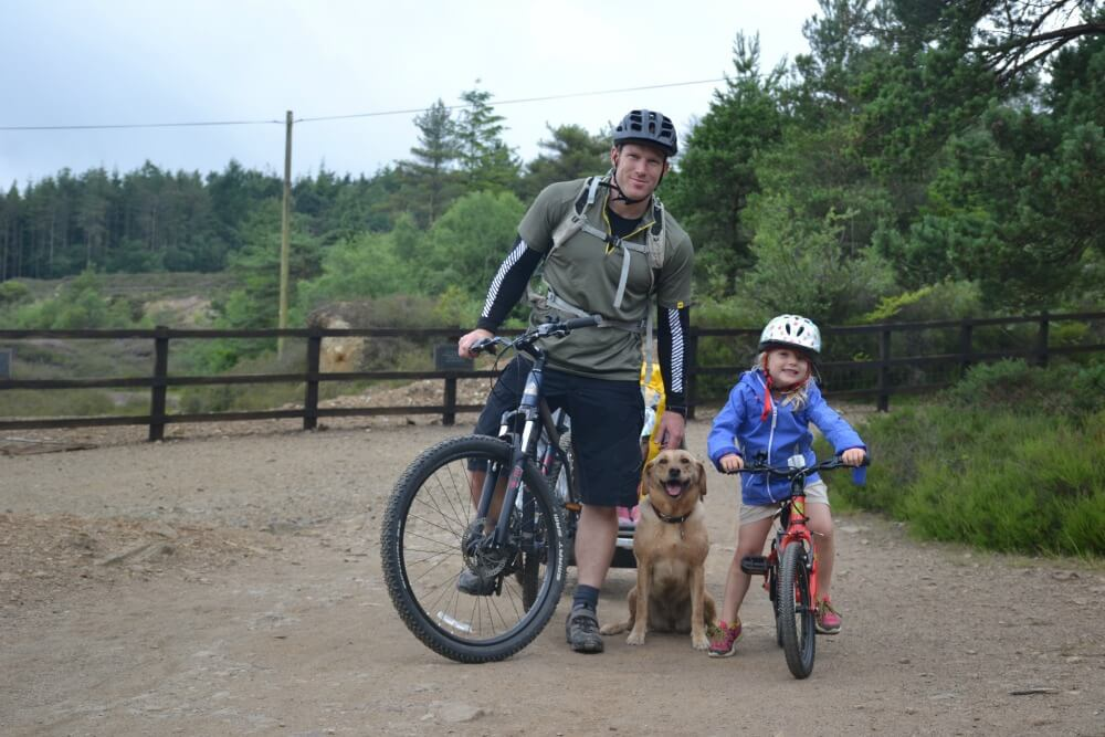 family adventure in the UK