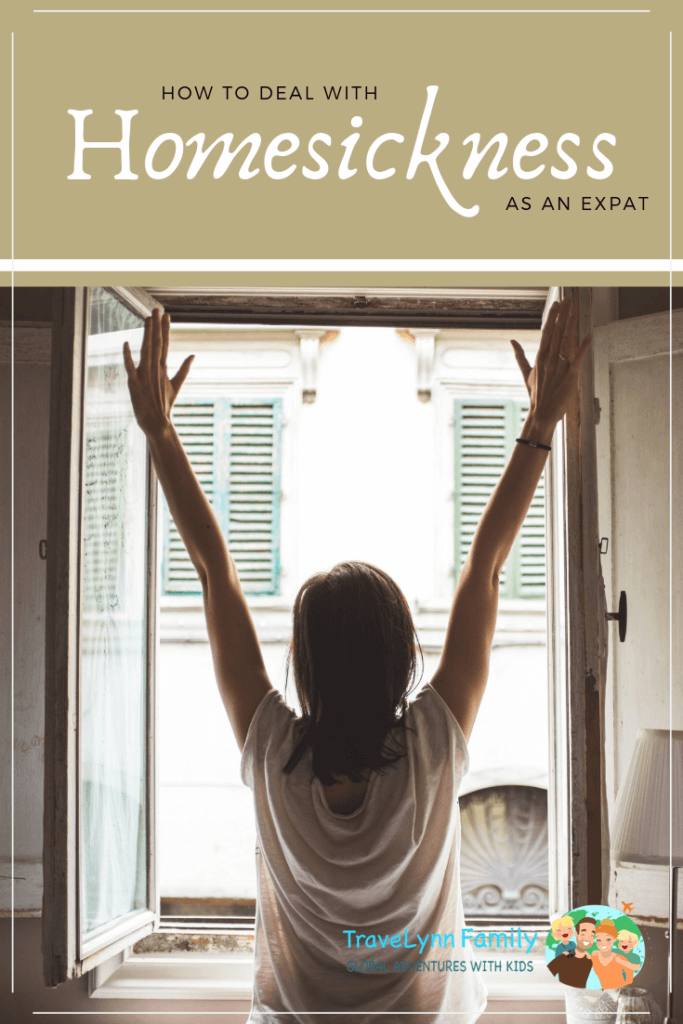 Homesickness as an Expat - pin