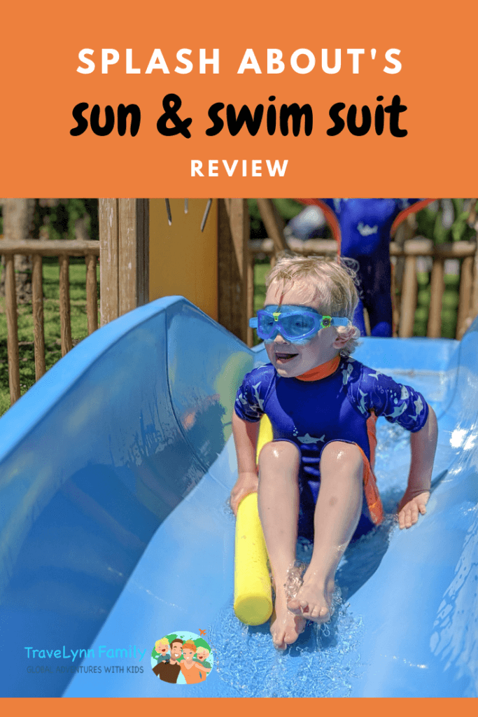 Splash About review pin