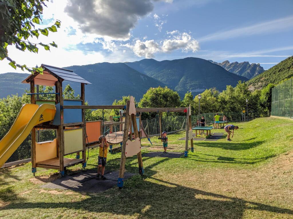playground at Camping Gavin