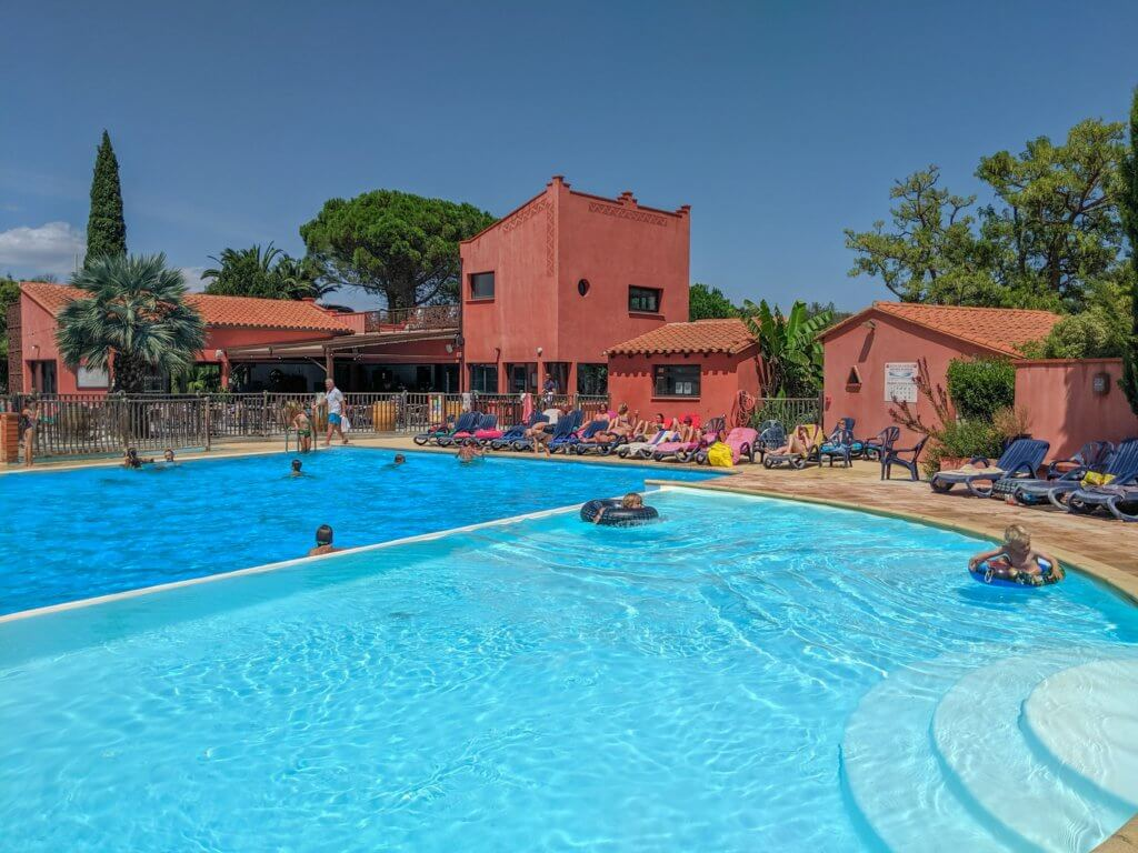 Camping le Haras swimming pool