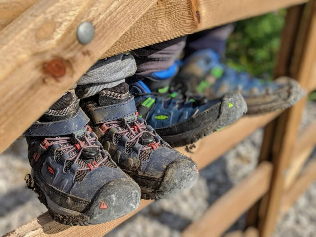 Kids' Targhee Waterproof Hiking Boots