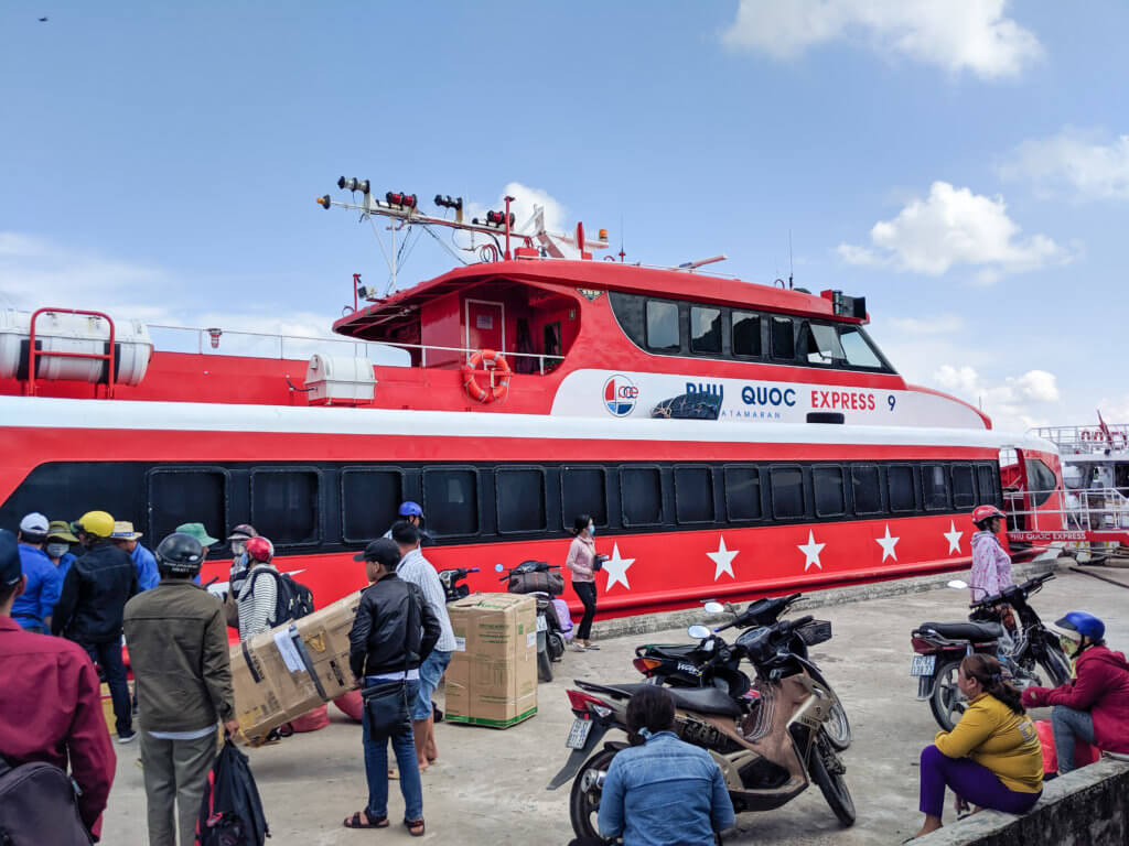 ferry to Phu Quoc from Ha Tien