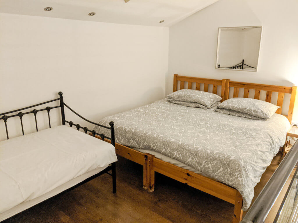 Wllow bedroom at Rossendale