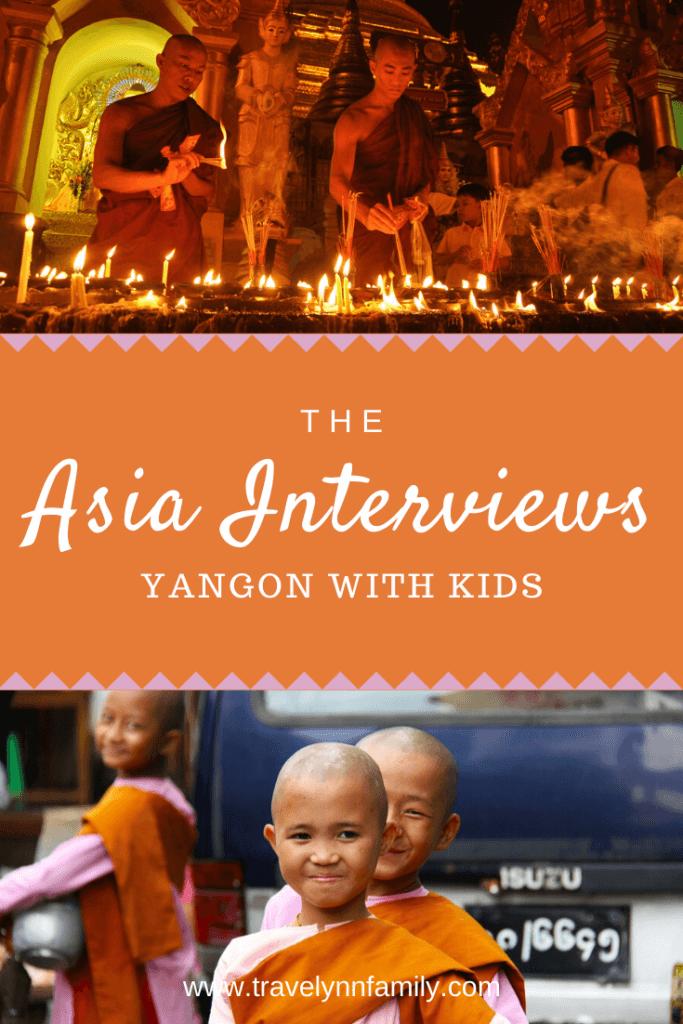 Yangon with kids pin