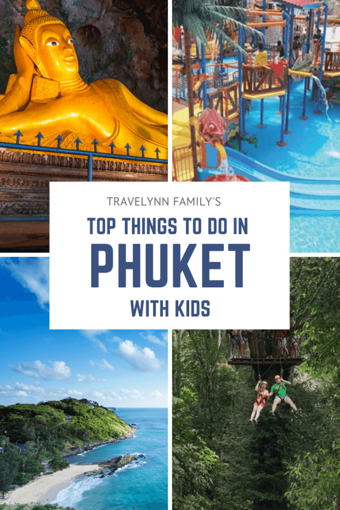 Things to do with kids in Phuket pin