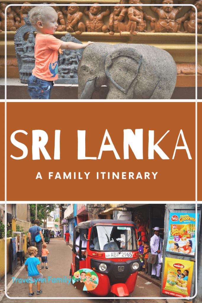 pin for Sri Lanka family itinerary