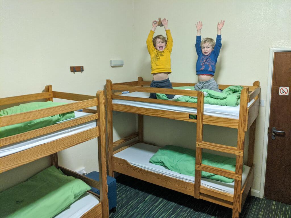 bunks at Yham Eyam