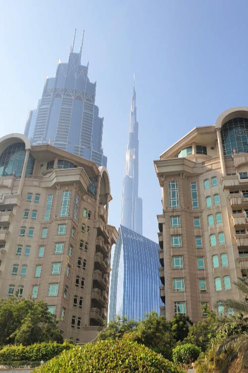 Roda Al Murooj Burj Khalifa