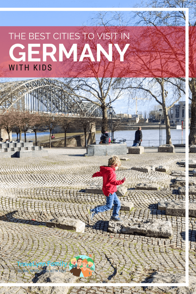 best cities to visit in Germany with kids pin