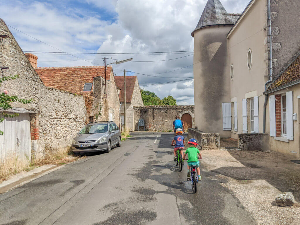 cycling in the Loire
