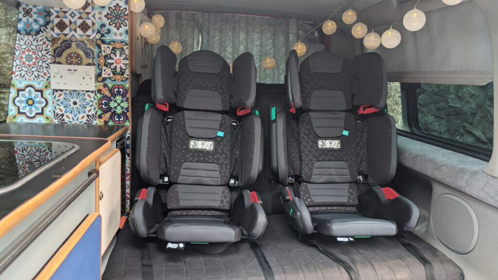 Hifold review folding car seat