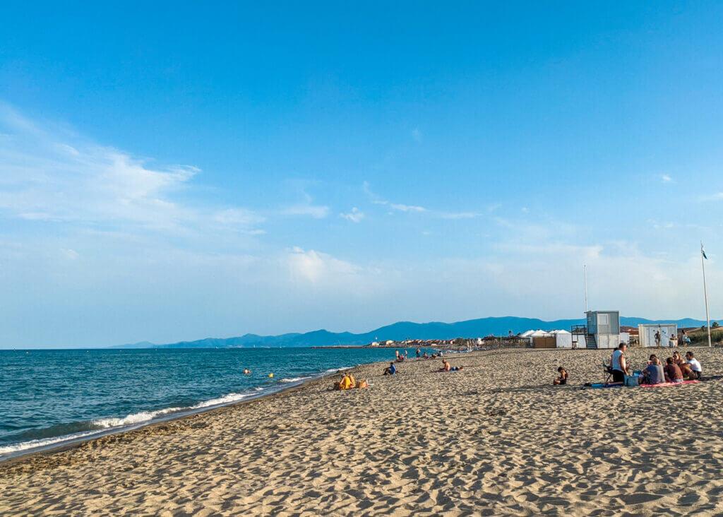 Sainte-Marie beach