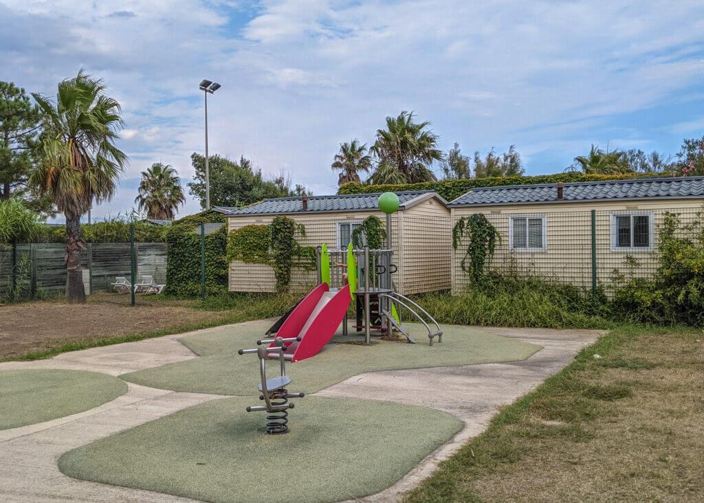 Camping de la Plage Eurocamp playground