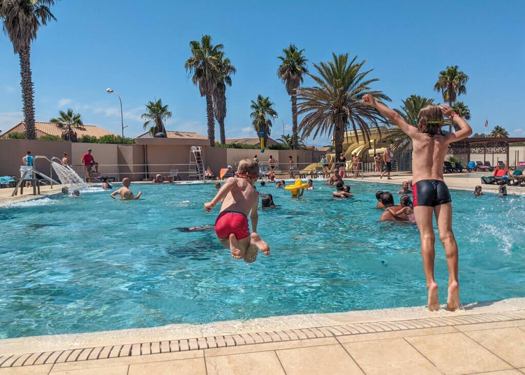 Camping de la Plage Eurocamp swimming pool