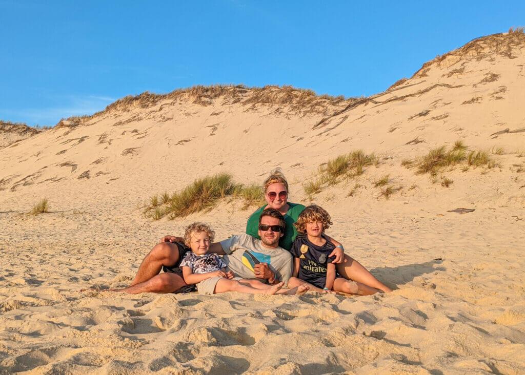 TraveLynn Family at Hourtin Plage