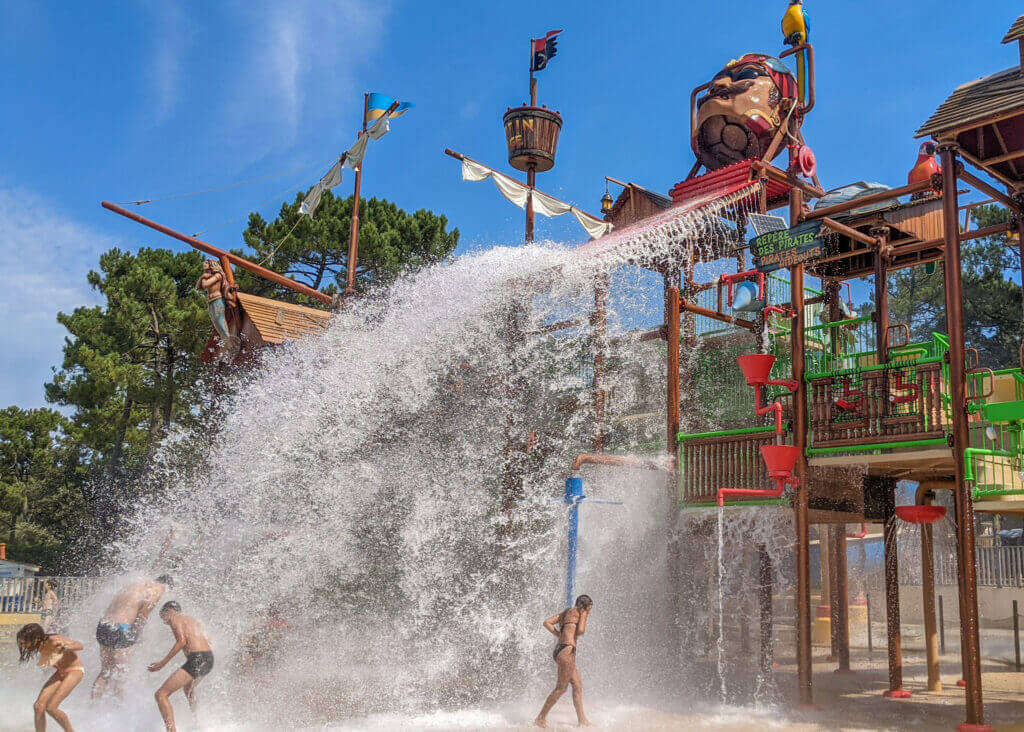 Waterpark at Camping Cote d'Argent