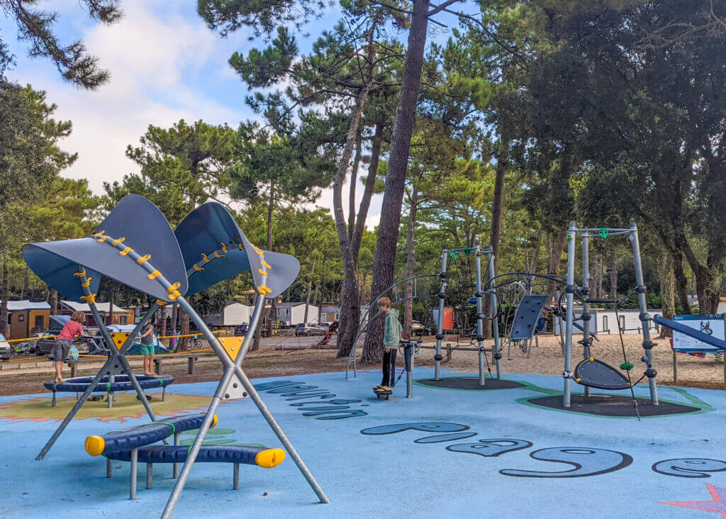 Cote d'Argent Camping playground