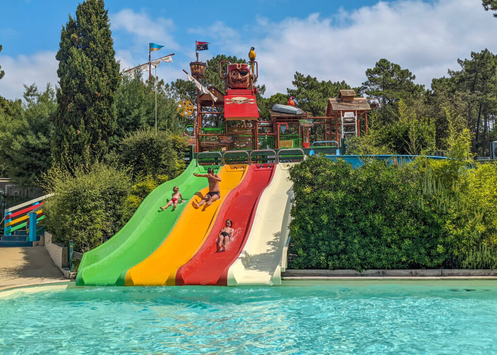 Cote d'Argent Camping swimming pool