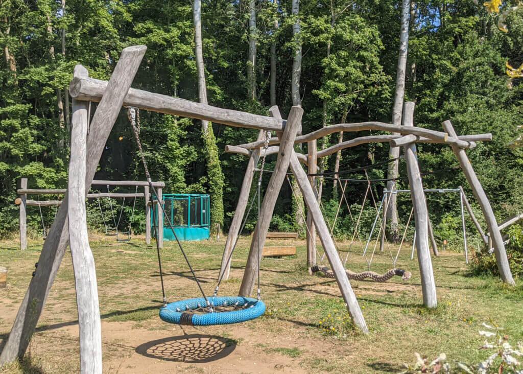 Le Château de Chanteloup Campsite playground